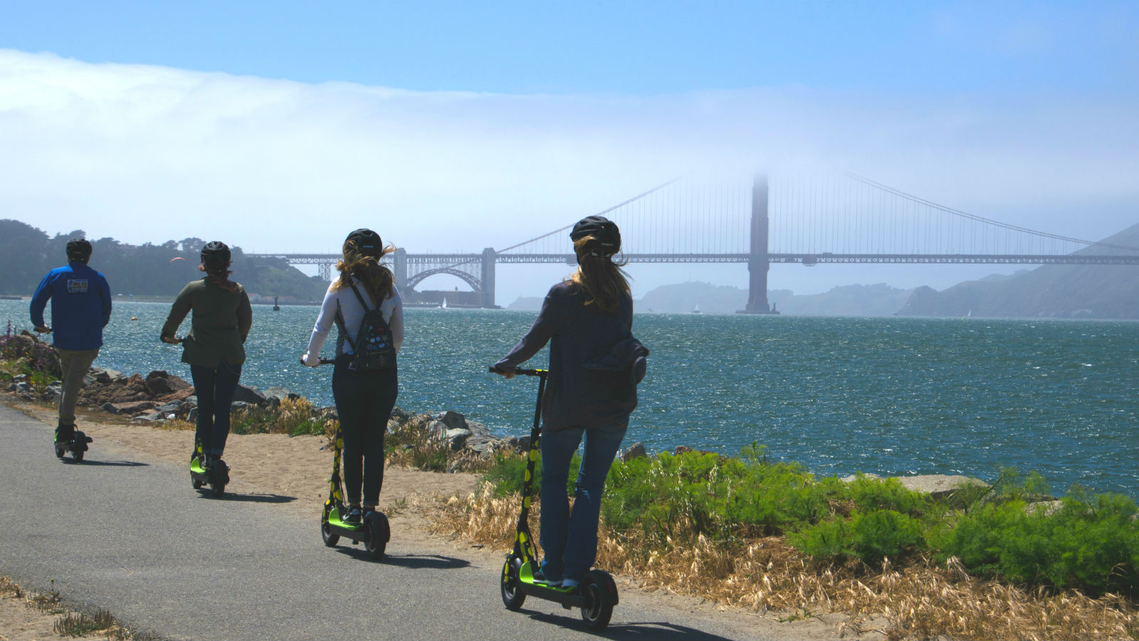Tour San Francisco On A Kick Butt Electric Scooter Adventure