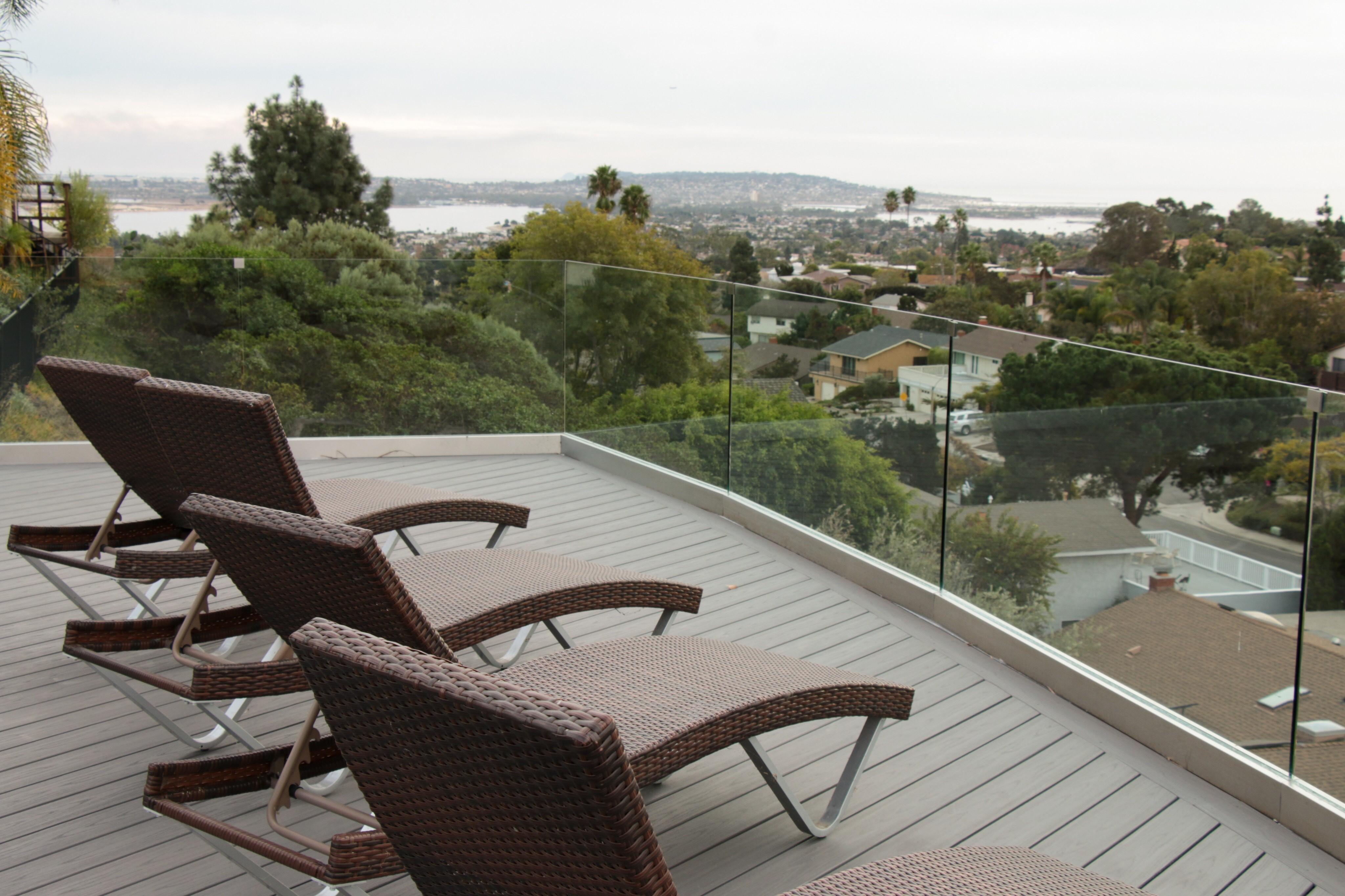 deck builder blake carter selects azek for spectacular sky deck