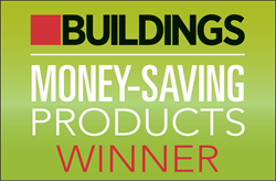 Buildings, facility managers, save money, cost savings, award winner, win, money-saving product
