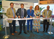 Officials celebrate Air Italy's launch at MIA with a ribbon-cutting.