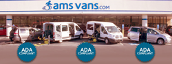ADA-compliant wheelchair-accessible vans