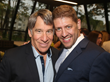 L-R: Academy Award® winner Stephen Schwartz with Daniel C. Levine at the theater's Opening Night Gala in Ridgefield on Saturday, June 9. (Photo: Bruce Glikas)