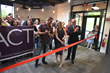 L-R: ACT of CT co-founders Daniel C. Levine and Katie Diamond with First Selectman Rudy Marconi at the theater's ribbon cutting in Ridgefield on Thursday, June 7. (Photo: Mike Horyczun)