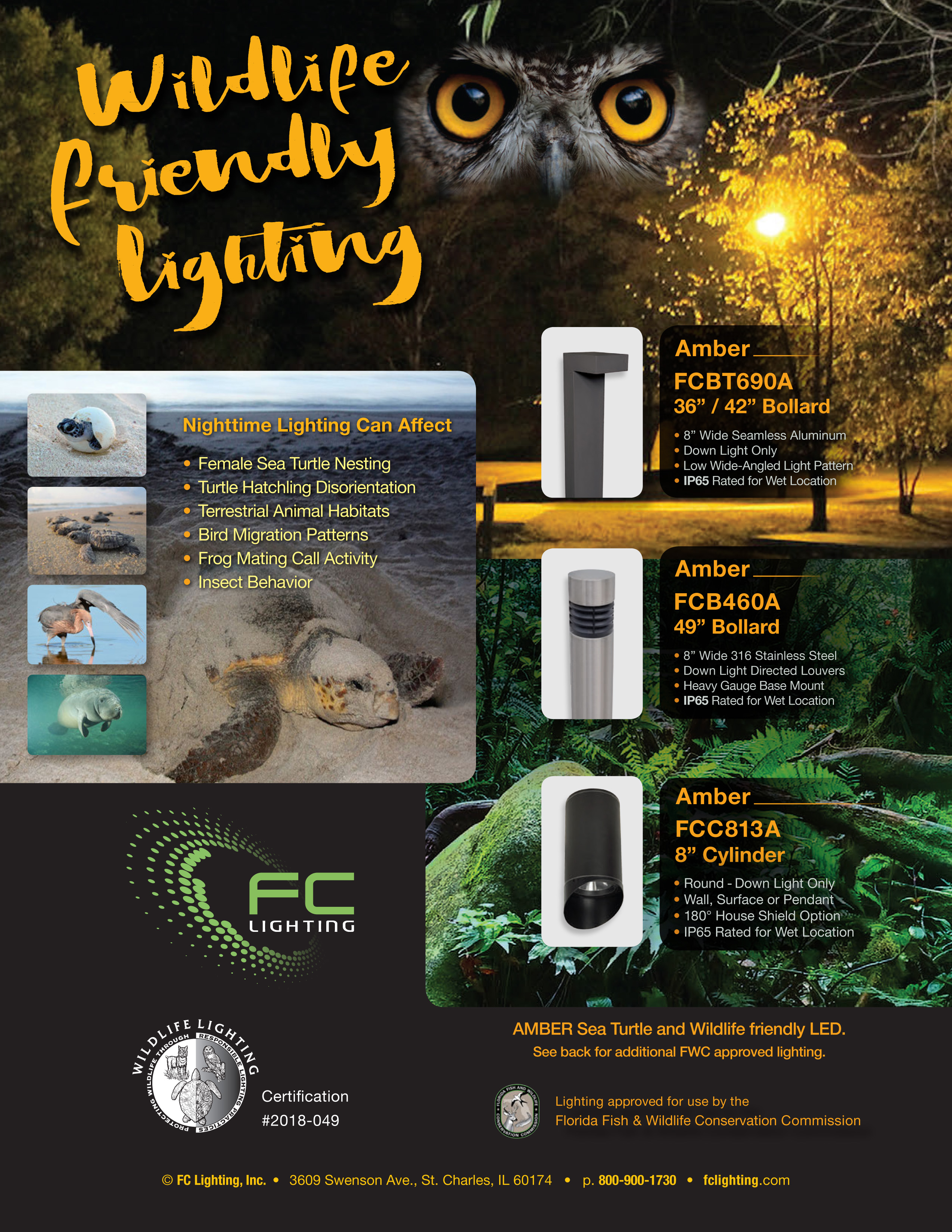 Sea Turtle And Wildlife Friendly Lighting By Fc Lighting 1