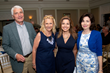 L-R: Gene Porcaro, event co-chair; Fran Porcaro, assistant executive director of The Children's School for Early Development; Mary Calvi, CBS2 News anchor; Phillis Rizzi, event committee.