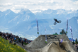 Monster Energy's Sam Reynolds also competed in the Alpine Whip Off event