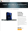 Pixel Film Studios Unveils ProDrop Corporate Volume 2 for Final Cut Pro X