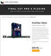 Pixel Film Studios Releases ProFilter Glitch for Final Cut Pro X