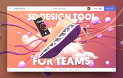vectary 3D design tool for teams