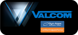 Valcom joins Syn-Apps' Certified Endpoint Partner Program