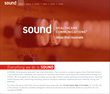 The new Sound homepage.