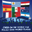 In a Frenzy Over the World Cup: If You Can't Join 'Em, The Flag Company, Inc. has World Flags and More for Celebrations at Home