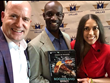 Beyond Publishing CEO, Michael D. Butler Dallas TX, Congratulating Malachi Walker's Parents Charlie and Christina Walker on their sons book The Boomerang Effect