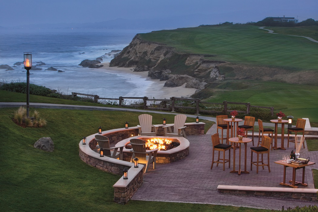 Unwind On The Coast This Summer With New Bonfire Hour At Ritz Carlton Half Moon Bay