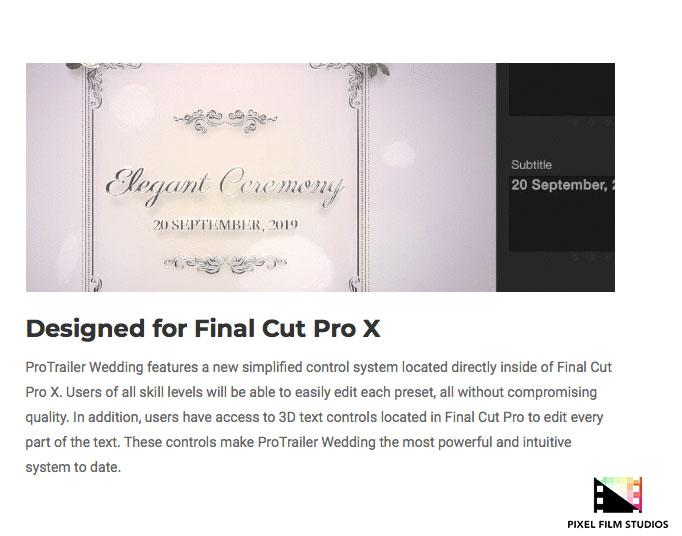 pixel film studios announces protrailer wedding for final