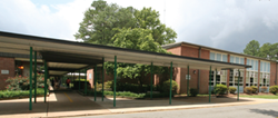 A picture of Chamberlayne Elementary School.