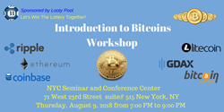 Introduction To Bitcoin Workshop, sponsored by LootyPool