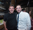 Chef Tyler Florence and Cooper's Hawk Founder & CEO Tim McEnery celebrate the launch of their collaboration wine at a Wine Club member dinner in Naples Florida.