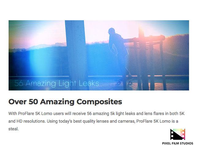 Pixel Film Studios Announces ProFlare 5K Lomo for Final Cut