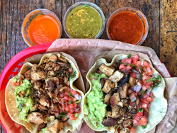 Pictures of Dos Toros tacos