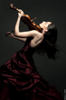 "Concert Violinist Esther Abrami in ""The Promise"""