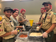 Scouts packaging Rise Against Hunger meals