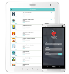 eLogic Learning's newest mobile release of eSSential LMS.