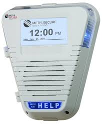 Indoor Emergency Help Stations for Instant Panic Button Activation.  Live Hands Free Two Way Voice