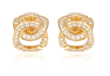 Aphrodite earrrings with diamonds from The Eros Collection by Igal Dahan