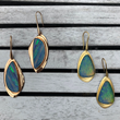 Azores Collection Opal Earrings by Original Eve Designs