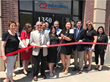 C2 Education Center Director Jennifer Lee Cuts Ribbon with New York State Assemblyman Anthony D'Urso