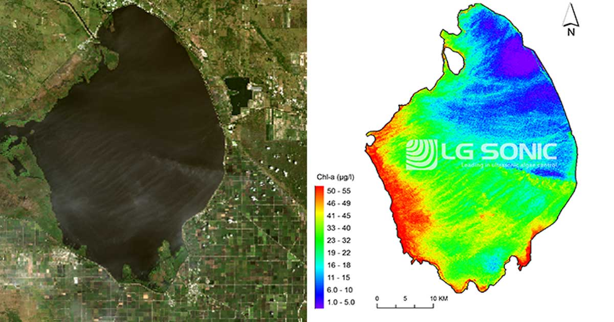 Satellite Images Show Threat Of Florida S Toxic Algal Bloom