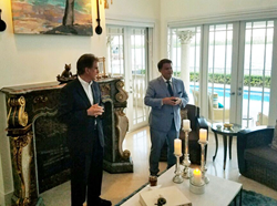 Tax reform expert Julio Gonzalez, shows support for Tax Reform 2.0 and hosts fundraiser for Representative Jim Renacci.