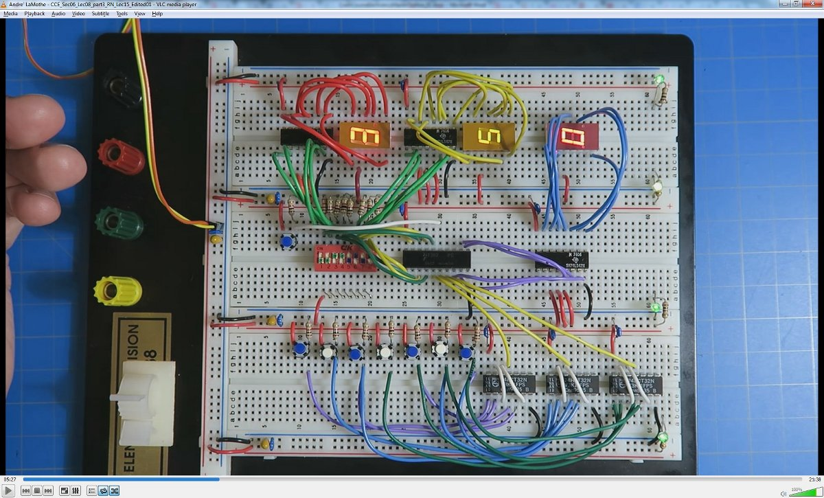 Hardware Hackers Rejoice Learn Electronics And Pcb Design From The Electronic Circuit Using Proteus Crash Course Sample Bench Basic Calculatorcrash