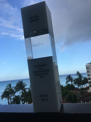 NterOne Wins Global Cisco Award