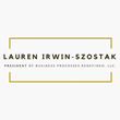 Lauren Irwin-Szostak, founder and president of Business Processes Redefined, LLC