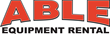ABLE Equipment Rental Company Logo