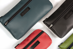 Limited-edition Microtech Gear Pouches — in four vibrant colors to help organize gear