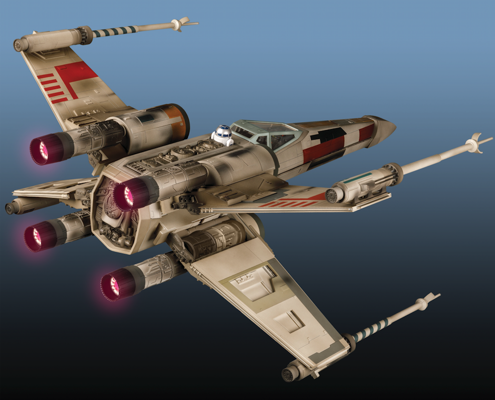 DEAGOSTINI MODEL SPACE BUILD THE STAR WARS X-WING FOLDER NEW UNUSED