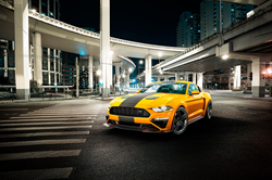 The 460-horsepower 2019 ROUSH Stage 2 Mustang offers a variety of additional style and performance options.