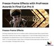 ProFreeze Awards - FCPX Tools - Pixel Film Studios