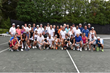 Calvary attracted more than 40 enthusiastic tennis players, a record in the event's history.