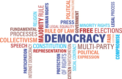 Democracy Word Cloud via Pixabay (CC)