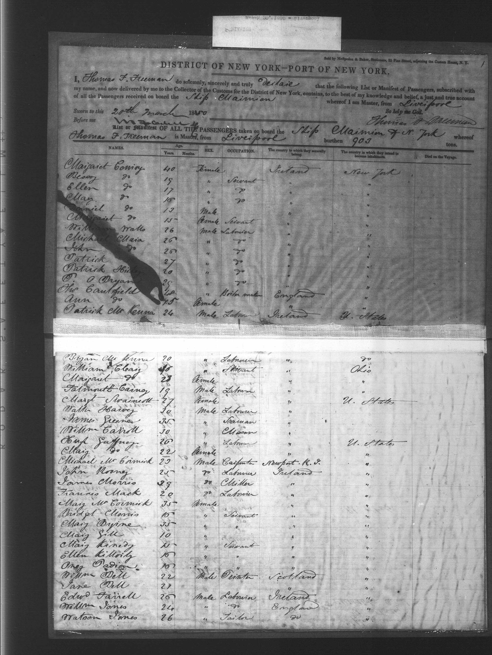Expanded Ellis Island Passenger Arrival Records 1820-1957