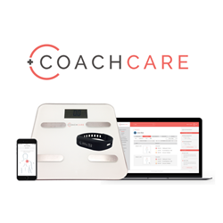 CoachCare provides a custom-branded patient mobile app, clinical dashboard, and connected proprietary trackers and scales to help patients and providers stay connected and compliant.