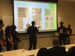 Project REAP students deliver final presentations at Fordham University's Lincoln Center campus.