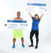 Mark Ostrowski and Tara McGinty were named the 2018 IsaBody Challenge® grand prize winner and runner-up, respectively.