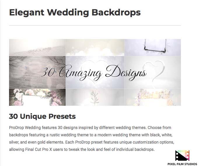 pixel film studios announces prodrop wedding for final cut