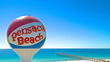 Pensacola Beach Gulf Pier and Casino Beach Ball