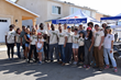 Over 20 celebrities gathered for a day of building at Homes 4 Families' Celebs4Vets Build.